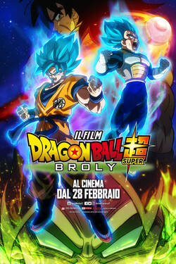 Locandina Dragon Ball Super: Broly