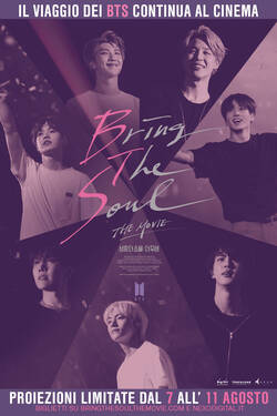 Locandina BTS - Bring The Soul: The Movie