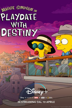 Locandina Maggie Simpson in 'Playdate with Destiny'