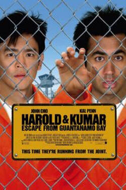 Locandina Harold and Kumar, due amici in fuga