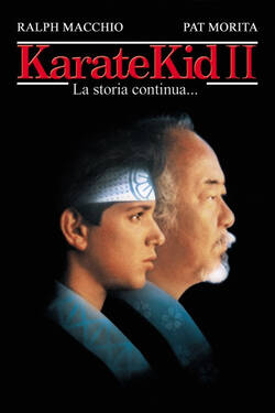 Locandina The Karate Kid Part II