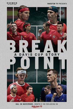 Locandina Break Point: A Davis Cup Story