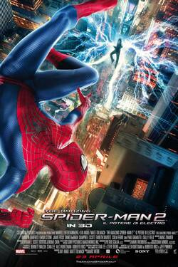 Locandina The Amazing Spider-Man 2