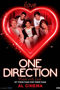 Locandina I Love One Direction
