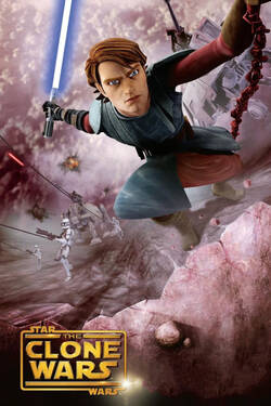 Locandina Star Wars: The Clone Wars - Il Film