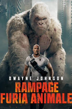 Poster Rampage: Furia animale