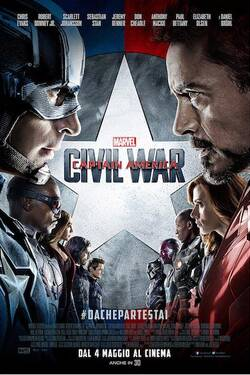Locandina Captain America: Civil War