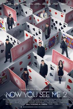 Locandina Now You See Me 2 - I maghi del crimine