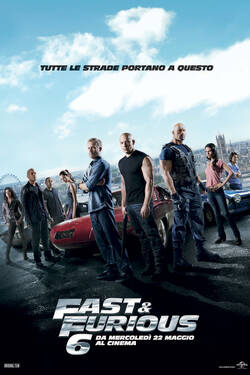 Locandina Fast and Furious 6