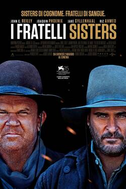 Locandina The Sisters Brothers 2018 Jacques Audiard