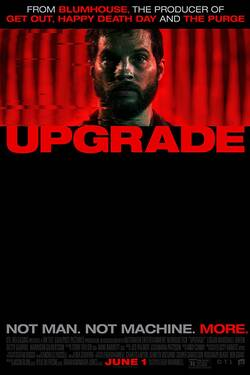 Locandina Upgrade 2018 Leigh Whannell