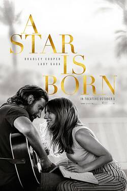 Locandina A Star Is Born 2018 È nata una stella