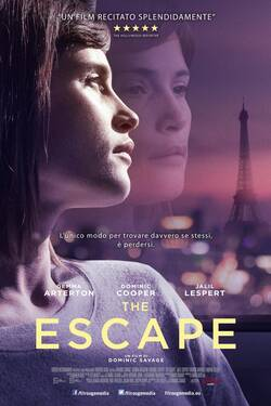 Locandina The Escape 2017 Dominic Savage