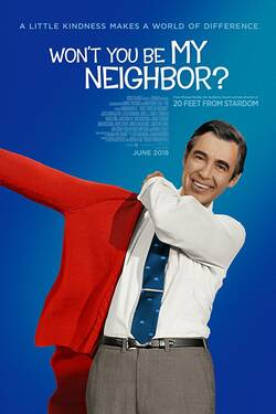 Locandina Won't You Be My Neighbor? 2018 Morgan Neville