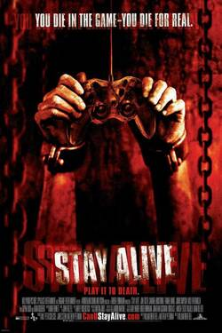 Locandina Stay Alive 2006 William Brent Bell
