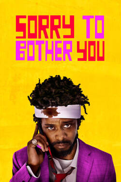 Locandina Sorry to Bother You 2018 Boots Riley