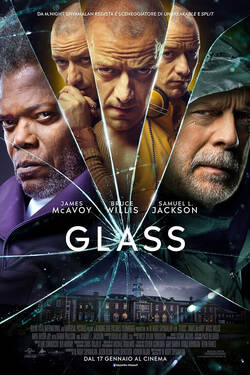 Locandina Glass 2019 M. Night Shyamalan