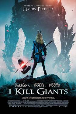 Locandina I Kill Giants 2017 Anders Walter