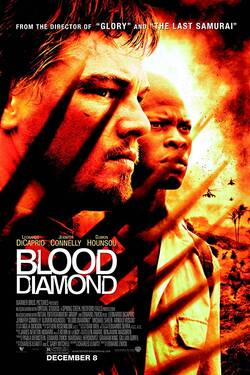 Locandina Blood Diamond - Diamanti di sangue