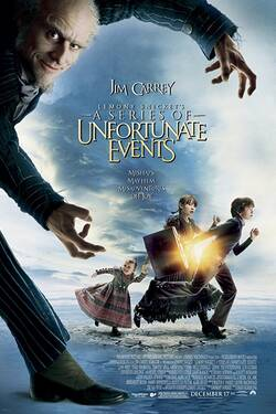Locandina Lemony Snicket - A Series of Unfortunate Events 2004 Brad Silberling