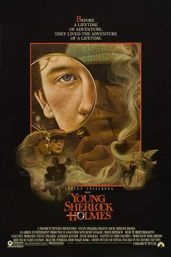 Locandina Young Sherlock Holmes 1985 Barry Levinson