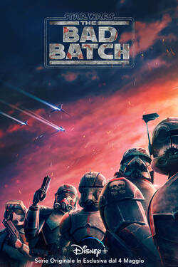 Locandina Star Wars: The Bad Batch