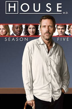 locandina 5x01 - La morte cambia tutto - Dr. House - Medical Division