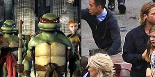 Teenage Mutant Ninja Turtles e World War Z