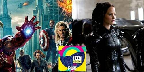 Teen Choice Awards 2012: The Avengers contro Hunger Games