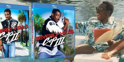 Beverly Hills Cop 2, 3 in Blu-ray