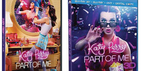 Katy Perry: Part of Me in DVD e Blu-Ray