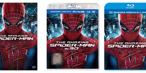 The Amazing Spider-Man in DVD, Blu-Ray, Blu-Ray 3D