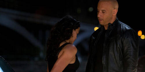 Fast and Furious 6, Michelle Rodriguez, Vin Diesel