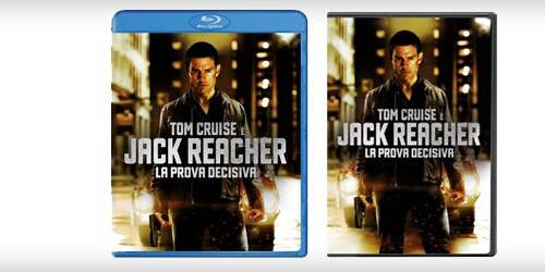 Jack Reacher - La prova decisiva in DVD, Blu-ray
