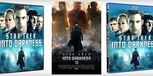 Star Trek Into Darkness in Blu-ray 3D, DVD