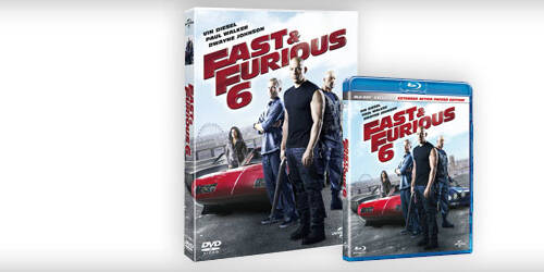 Fast and Furious 6 in DVD, Blu-ray