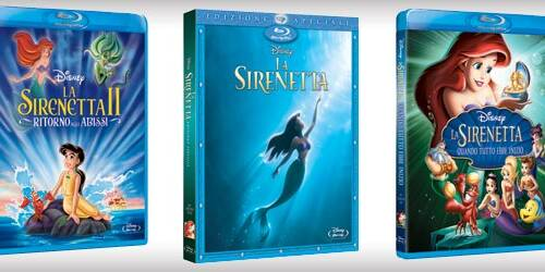 La Sirenetta 1, 2, 3 in Blu-ray