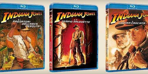 Indiana Jones: i primi tre film in Blu-Ray