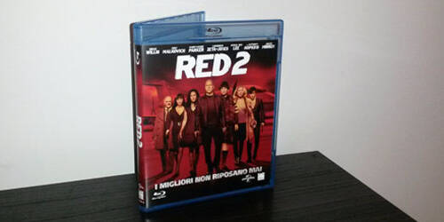 Il Blu-ray di RED 2