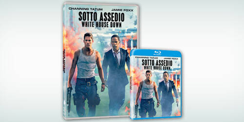 Sotto Assedio - White House Down in Blu-ray e DVD