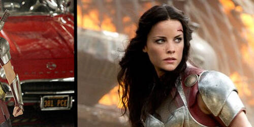 Jaimie Alexander in Marvel's Agent of S.H.I.E.L.D.
