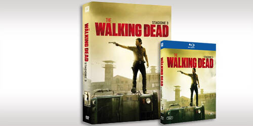 The Walking Dead: Terza Stagione in DVD, Blu-ray