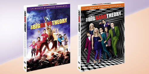 Big Bang Theory: Quinta e Sesta Stagione Complete in DVD