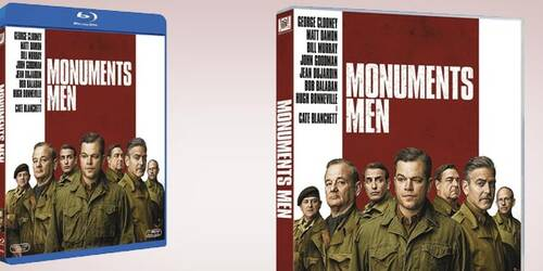 Monuments Men in Blu-ray e DVD