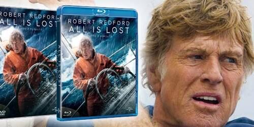 All Is Lost in DVD e Blu-ray