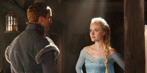 Once Upon a Time: prima foto di Georgina Haig come Elsa