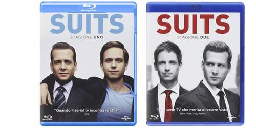 Suits: le prime due Stagioni in Blu-ray