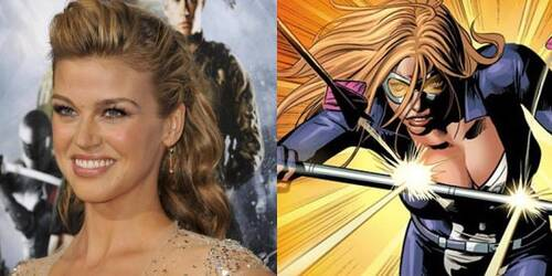 Adrianne Palicki in Agents of S.H.I.E.L.D. come Mockingbird