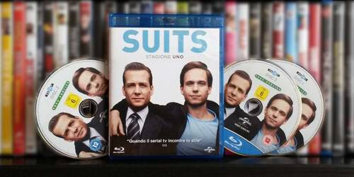 Suits - Stagione 01 in Blu-ray