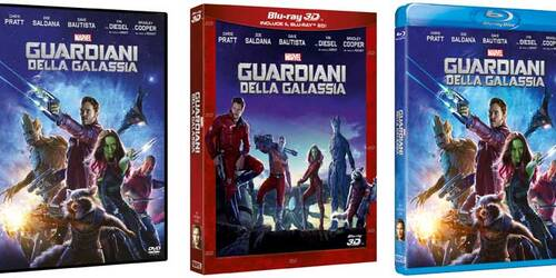 Guardiani della Galassia in Home Video